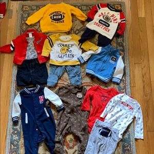 14 piece lot of Carter's size 6 mos.